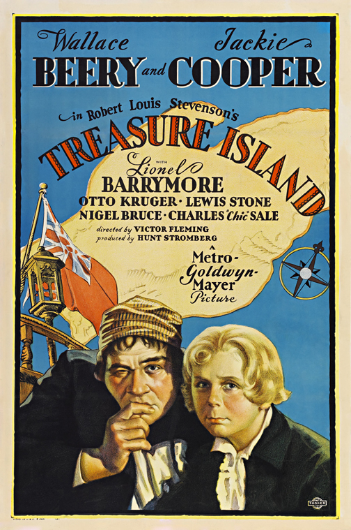 Treasure Island Classic Movie Posters Wall Art Framed — MUSEUM OUTLETS