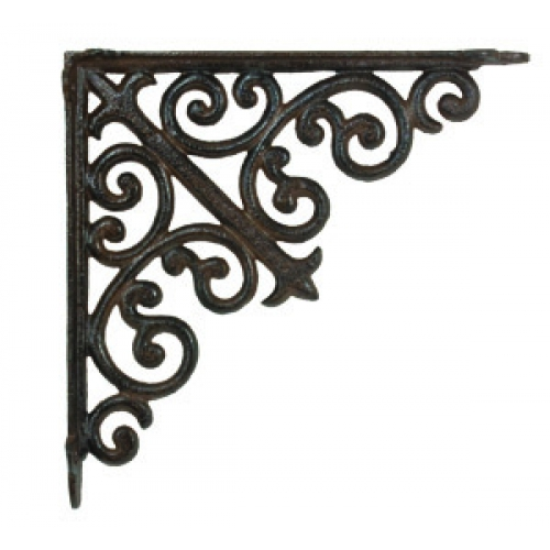 Decorative Metal Shelf Brackets