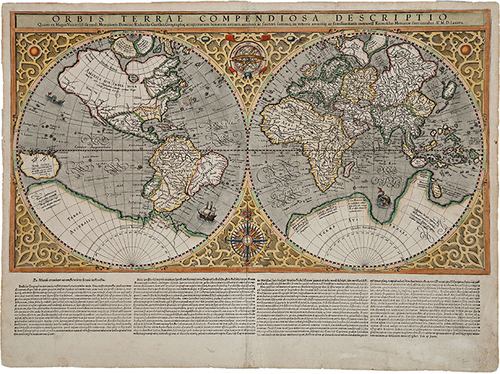 Antique World Map Print — MUSEUM OUTLETS