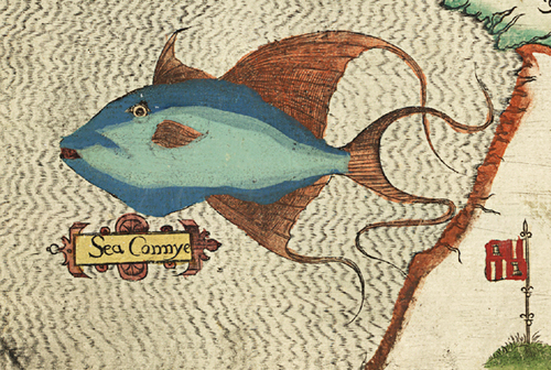 Detail of sea monster from antique world map museum outlets detail of sea monster from antique world map gumiabroncs Choice Image