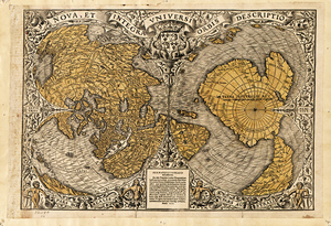 Old world maps museum outlets mawo 5 earth 1572 antique framed mapsg 1572 antique world map print gumiabroncs Gallery