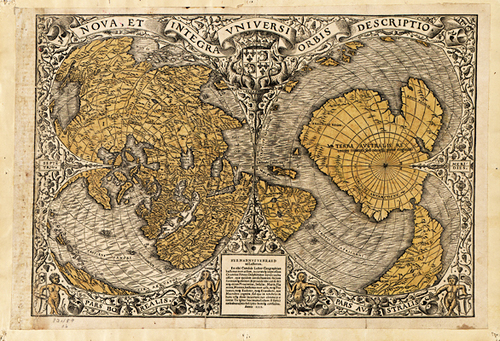 1572 antique world map print museum outlets 1572 antique world map print gumiabroncs Gallery