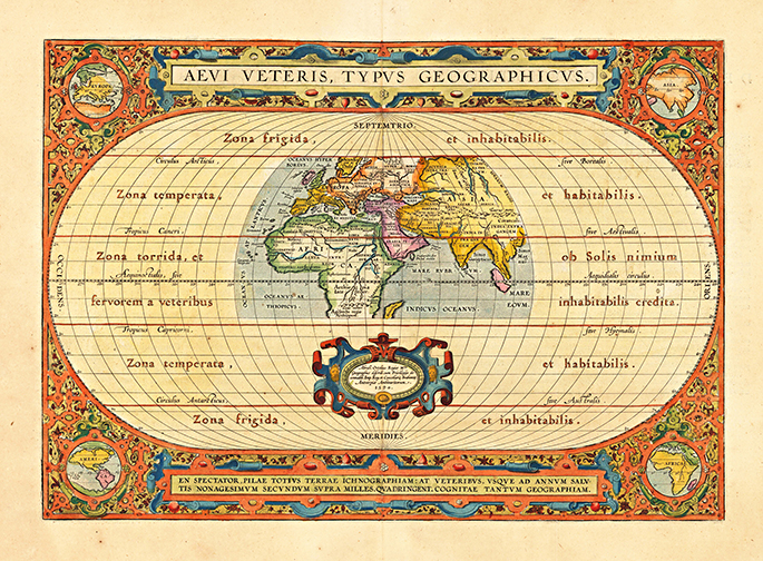 Old world maps museum outlets mawo 60 world map 1624 antique framed mapsg gumiabroncs Gallery