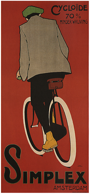 Simplex Vintage Cycling Bicycle Poster Wall Art — MUSEUM OUTLETS
