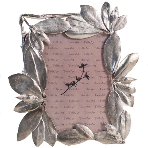 Handmade In Usa Pewter Leaf Picture Frame Museum Outlets