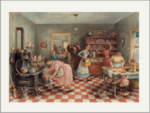 Giclee cards museum outlets doris lee thanksgiving fine art print greeting card m4hsunfo