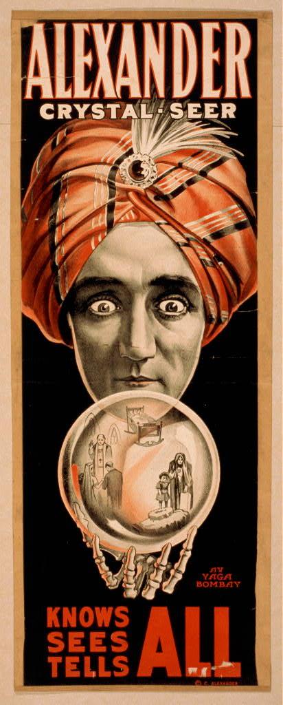 Alexander Vintage Magic Poster Museum Outlets