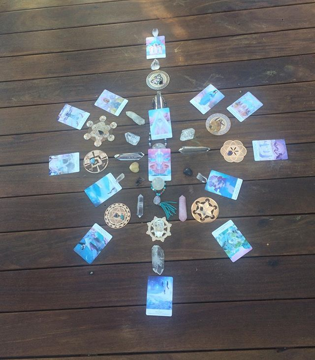 On the last day in Riviera Mexico, our mentorship group created a beautiful and powerful crystal grid.