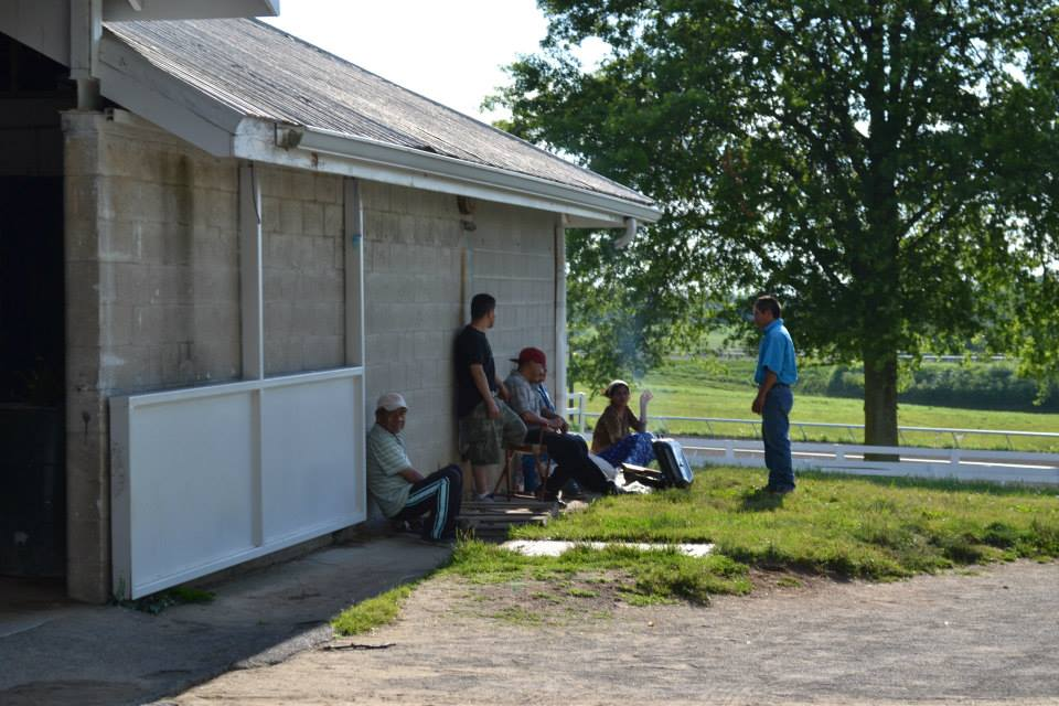 Keeneland Racecourse. Lexington, KY. 2013.