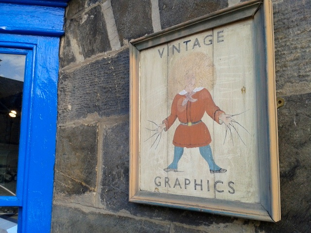 Vintage Graphics Sign 2014 SRLS