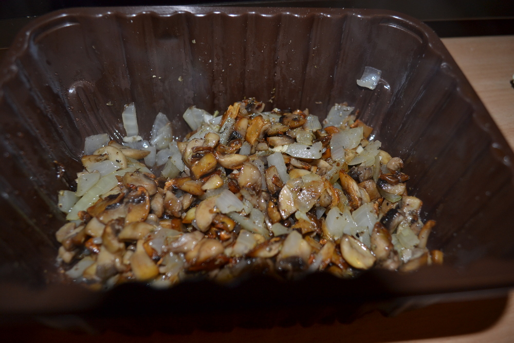 Mushroom, onion, and spice mix