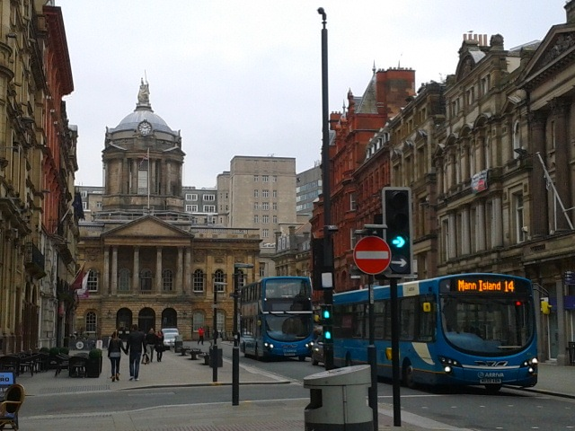 Downtown Liverpool