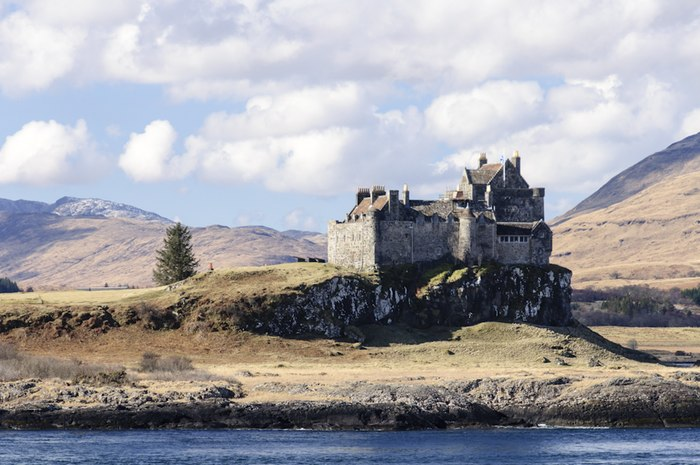 Duart Castle near historic shipwreck hotspot