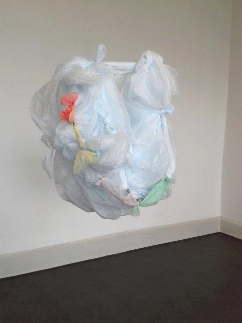 Karla Black's IMMA Installation. 2015