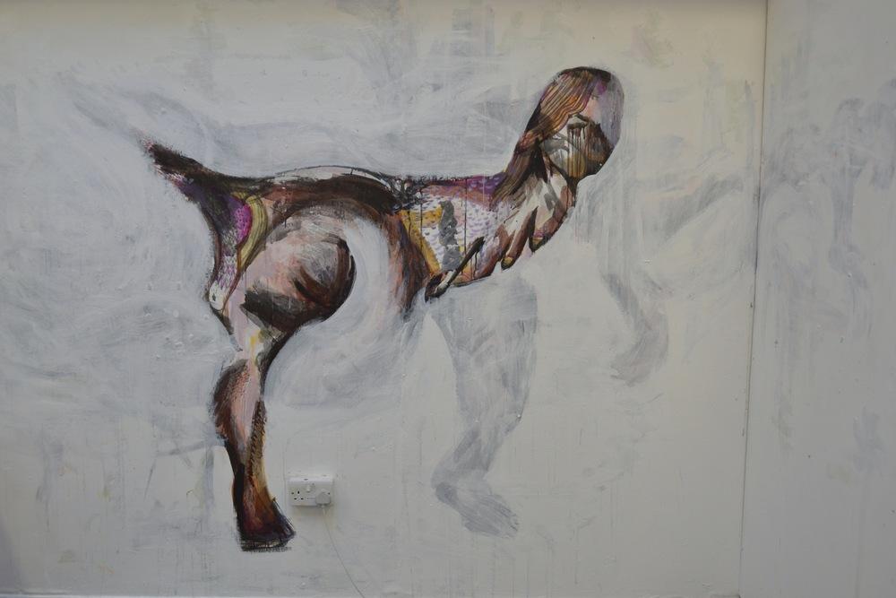 Bear Maiden Mural