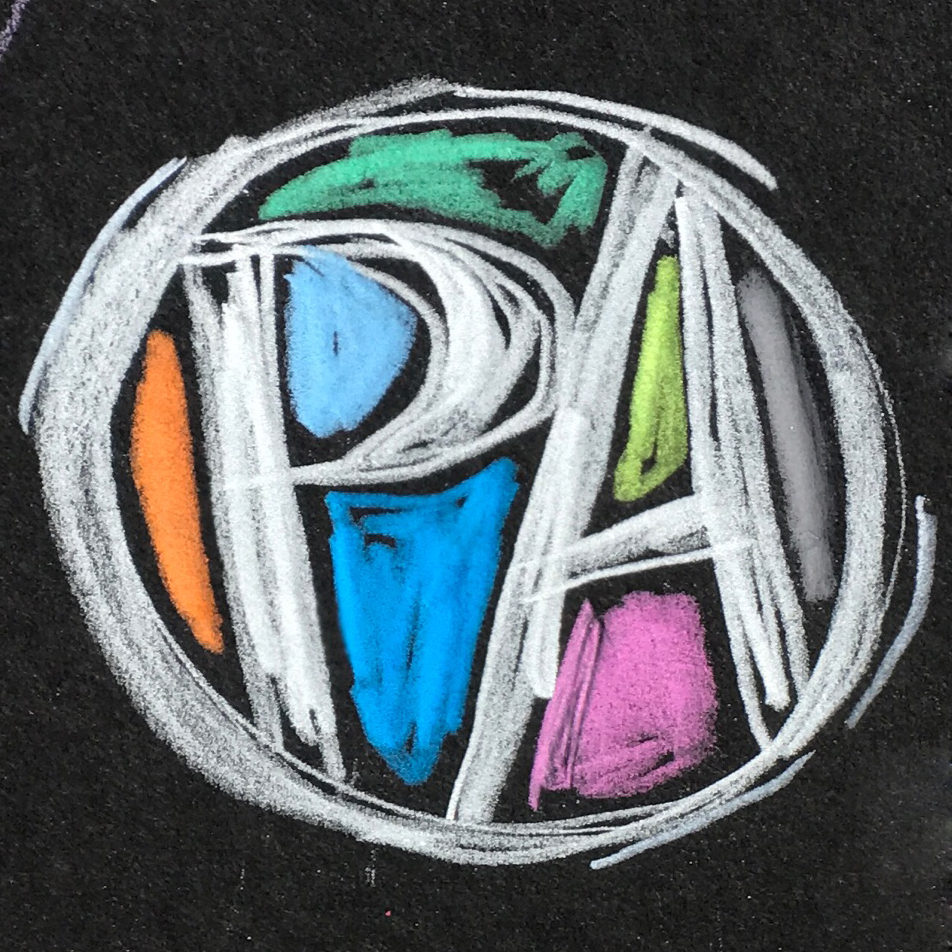 Chalk Art Version of New Logo