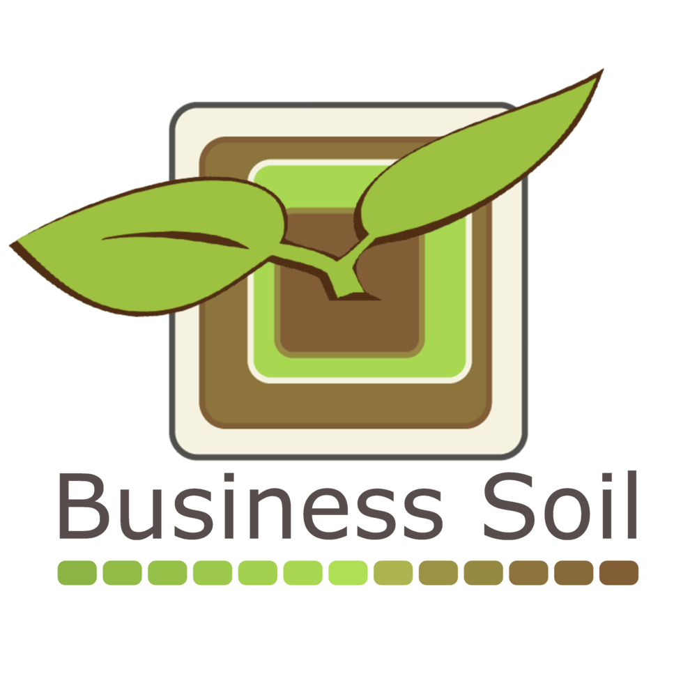 Business Soil Logo Vertical