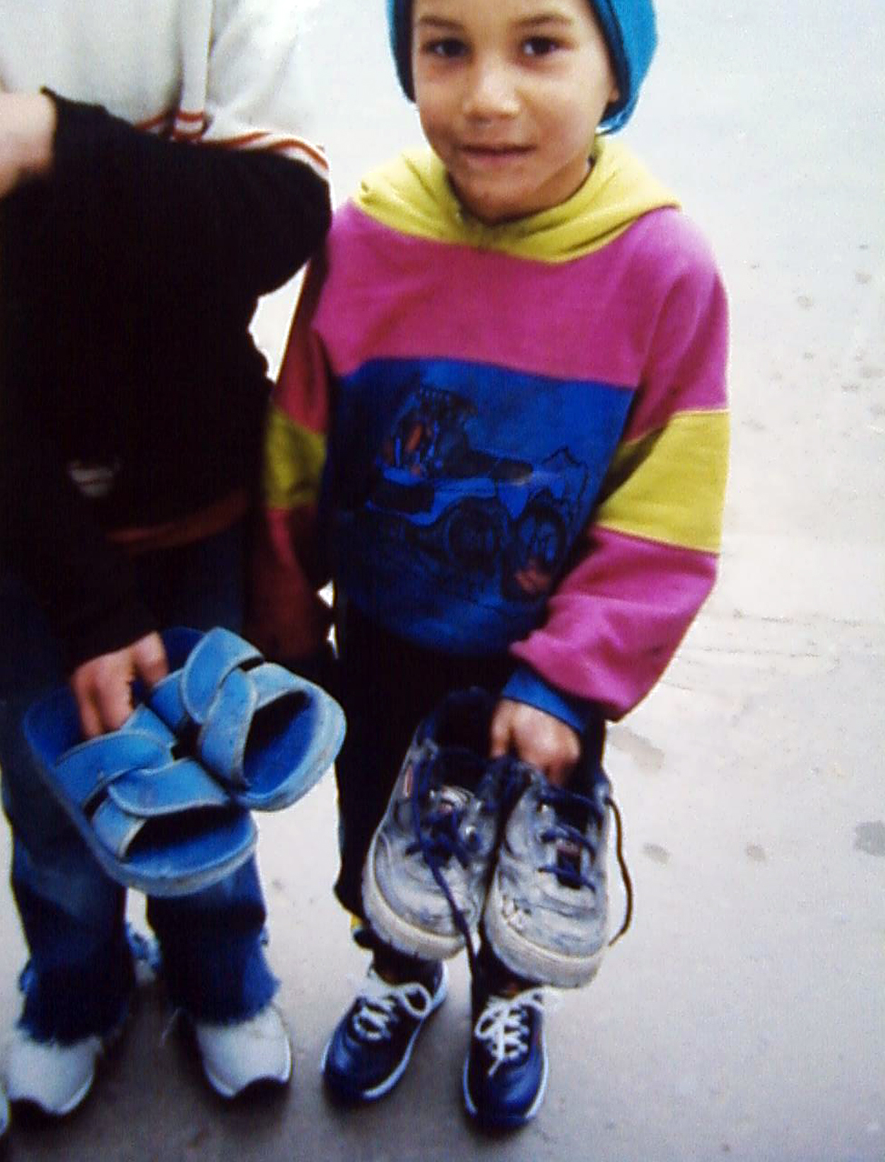 romania shoes for street kids 2