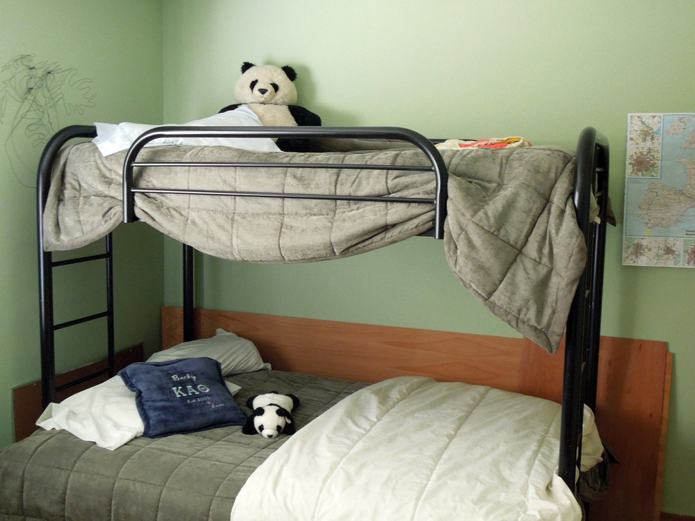 "4. THE STRAWS. Lafayette, California. Home at my parents' house for a wedding. Laid in bed wishing my 31-year-old self could tell my 13-year-old self, ""One day, you'll regret begging dad to buy this freaking futon bunk bed!"""