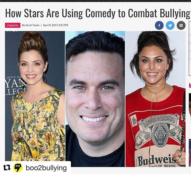 Come to our event tonight! #Repost @boo2bullying with @repostapp ・・・ BIG SHOUT OUT to @toofabnews thank you! Join Boo2Bullying on April 11th for a night of drinks and laughs at The World Famous Comedy Store to support Boo2Bullying hosted by Steve Simeone with Iliza Shlesinger Stephen Kramer Glickman Sean Kanan Shawn Pelofsky Comedy Justin Martindale  Tickets are only $20! Good cause, funny people.  TIX: click link in bio Thank you for your generosity and support! B2B