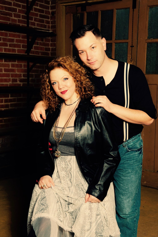 JESSICA DEY (SUSAN) & MITCH NUGENT (JONATHAN)