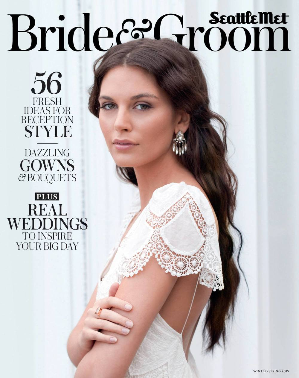 "Seattle Met Bride & Groom   –  Winter/Spring 2015 Issue, "" Groom's Guide: Only You, Custom Wedding Bands"""