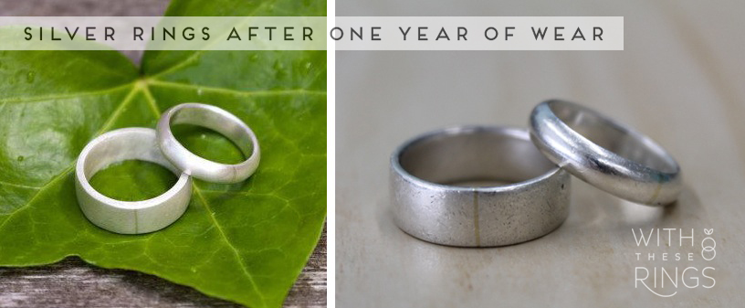 The Wedding Rings In These Photos Belong To My Husband And I We Made Them For Each Other From Sterling Silver With A 18k Gold Solder Joint