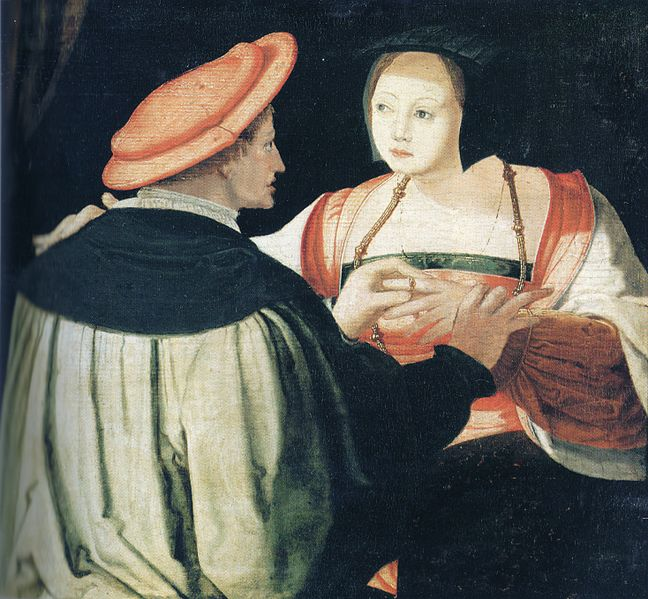 The Betrothed Couple by Lucas van Leyden