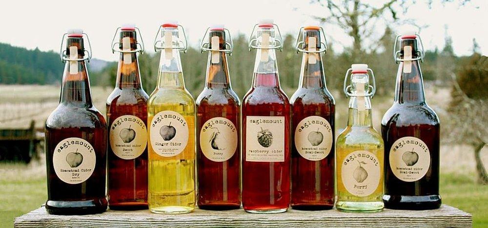 Photo c/o  Eaglemount Winery & Cidery