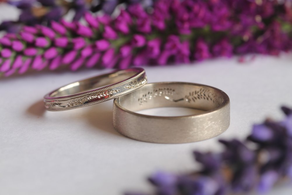 Wedding bands by Jen & Wil