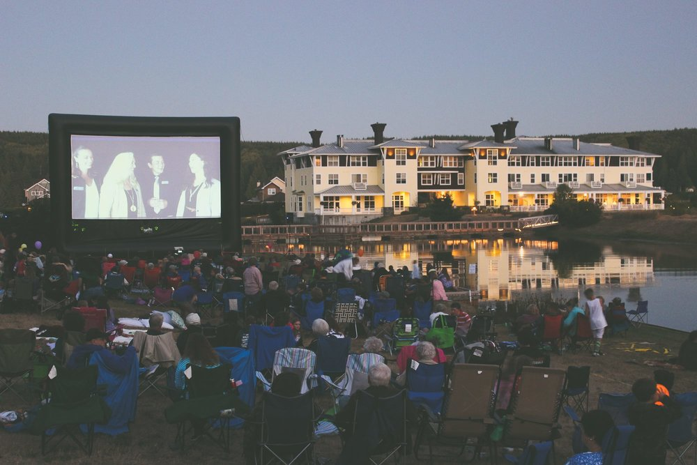 Photo Credit:  Port Ludlow Outdoor Movie Night