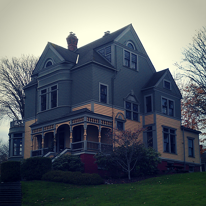 The Haunted Walker Ames House in Port Gamble Photo Credit:  PortGambleParanormal.com