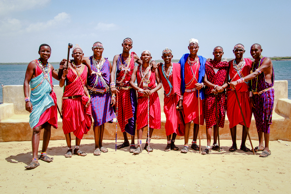 Maasai, Shela, Lamu Island, Kenya