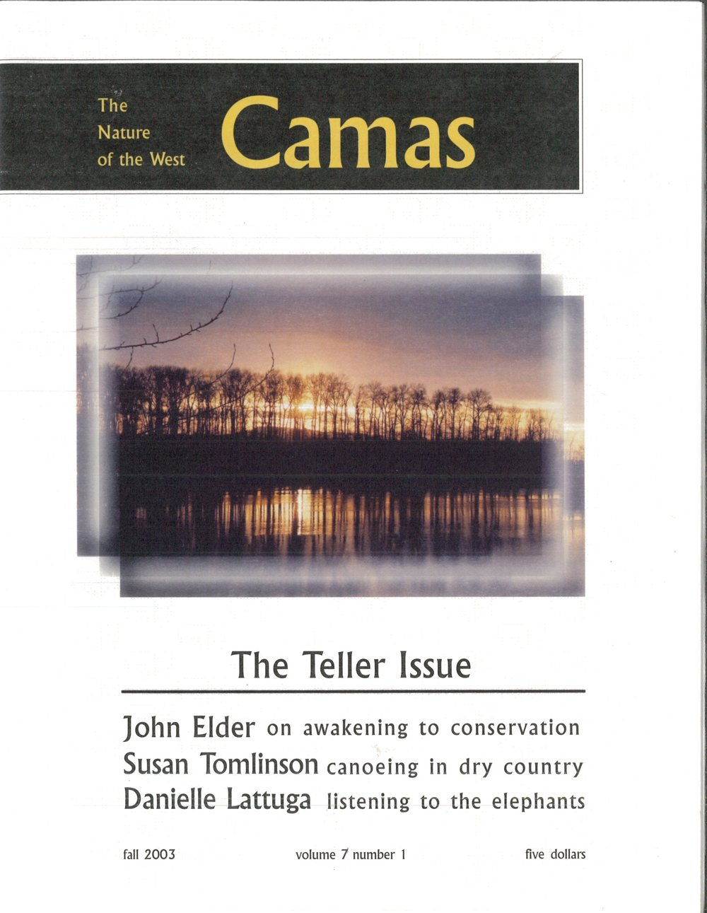 Fall 2003: The Teller Issue - Featuring