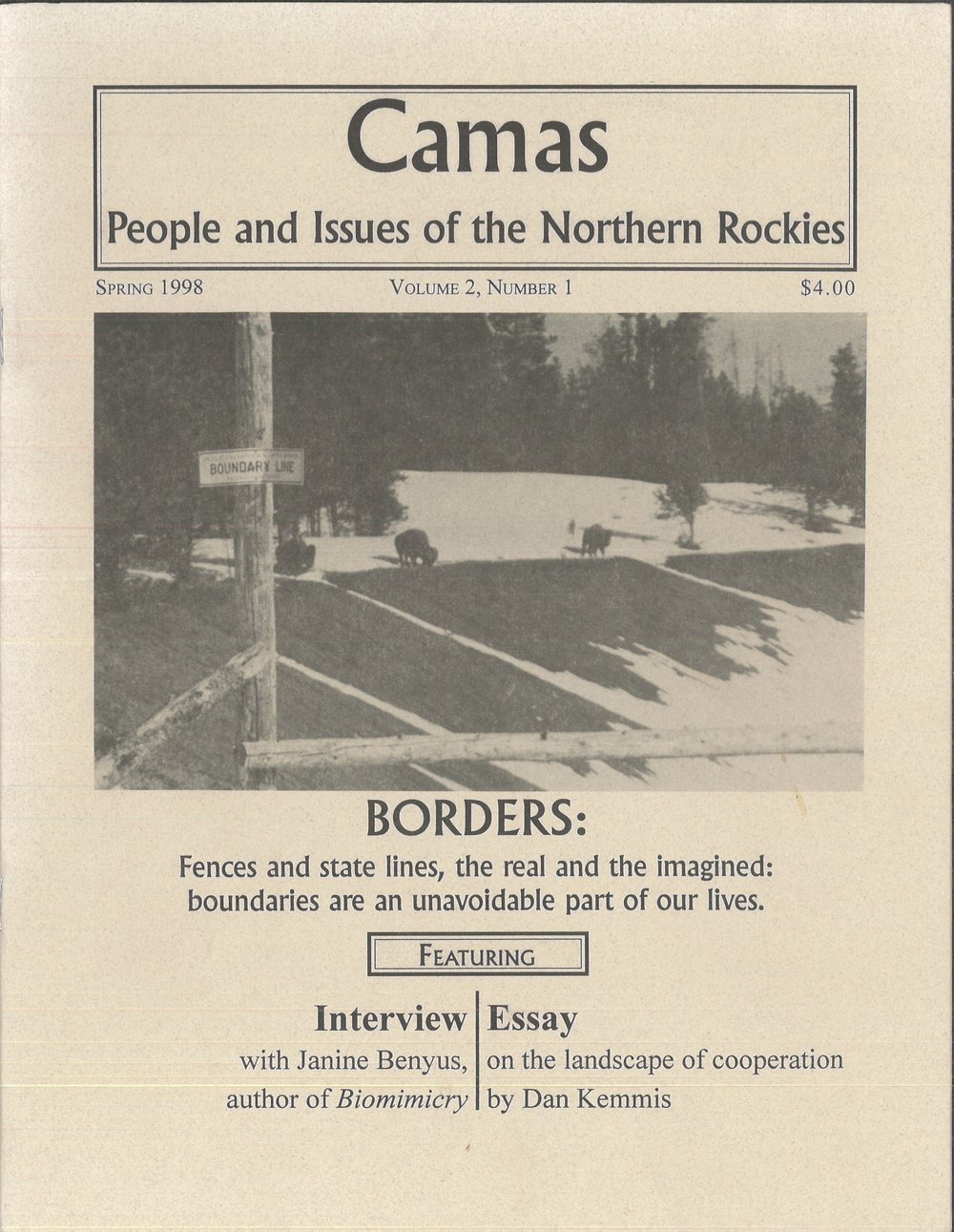 Spring 1998: Borders - Featuring