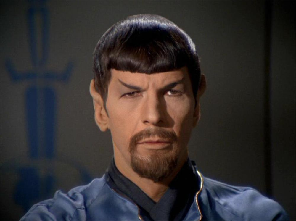 Star Trek - Alternate Mr. Spock with Goatee