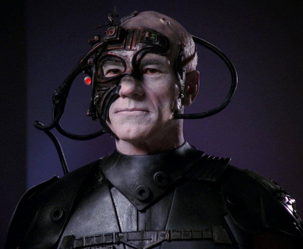 Locutus of Borg (Captain Jean-luc Picard)