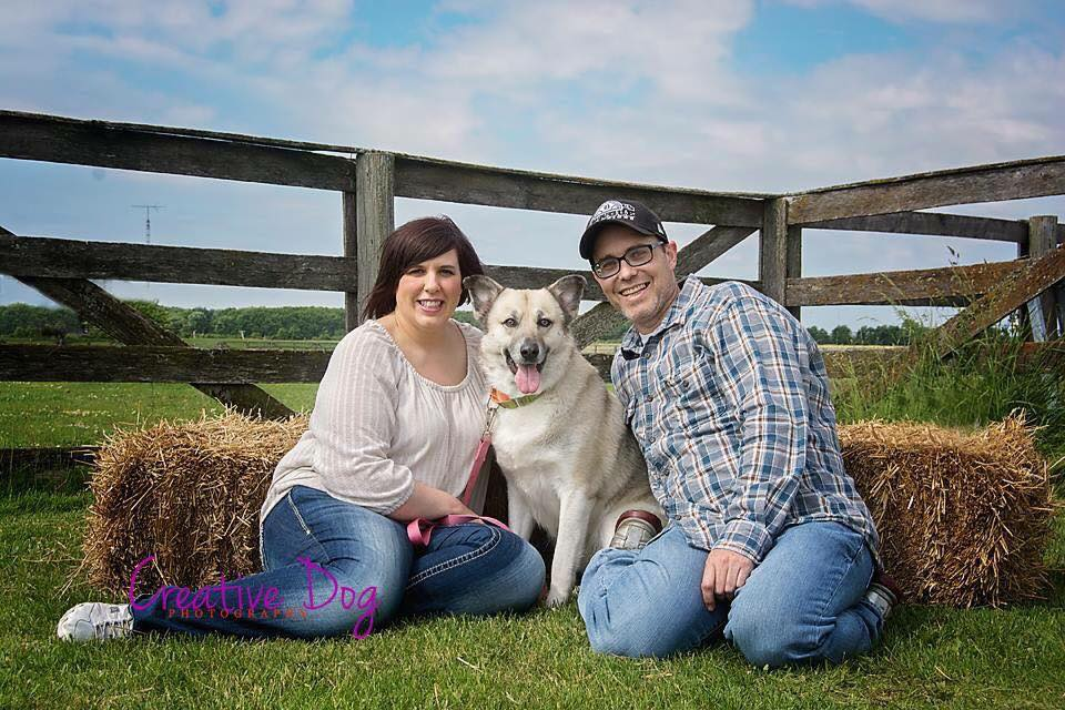 Georgia and her wonderful new family