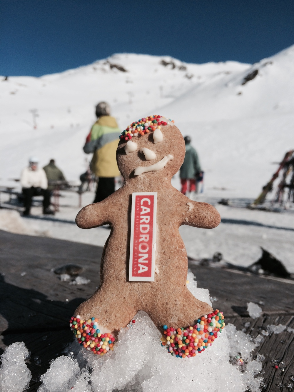 GINGER BREAD MAN @ CADRONA SKI FIELD