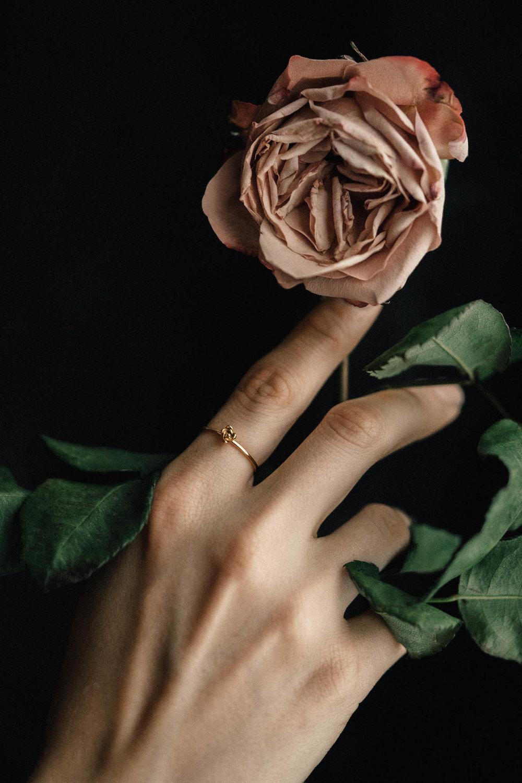 Petite Succulent Ring No. 1