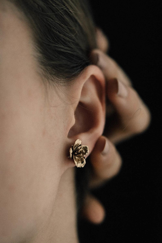 Petite Cherry Blossom Earring