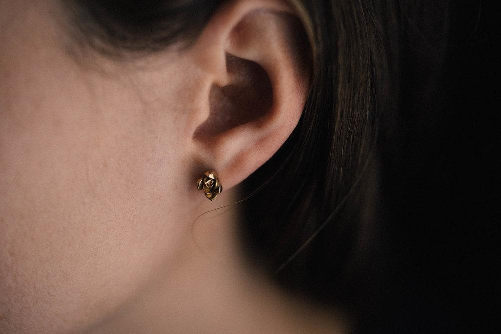 Succulent No. 1 Stud Earring