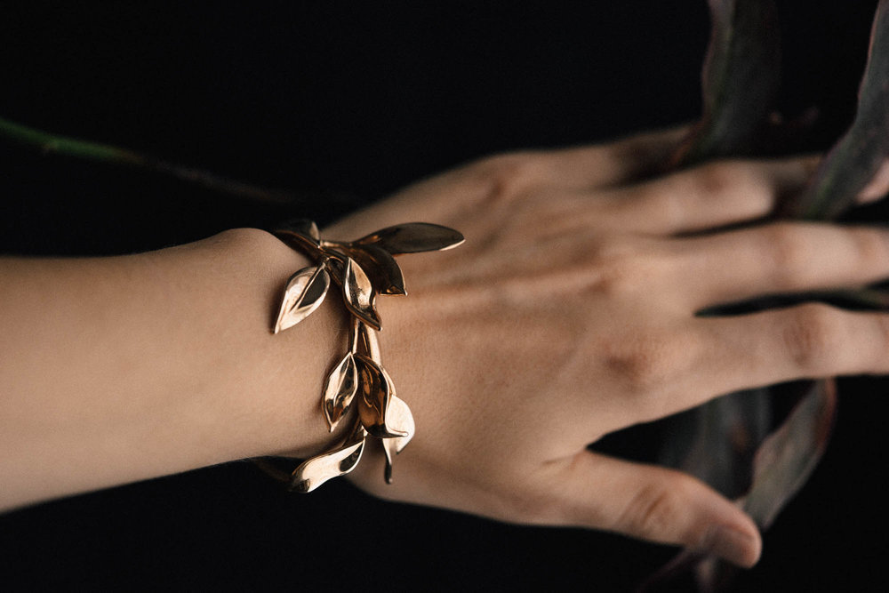 Laurel Leaf Cuff