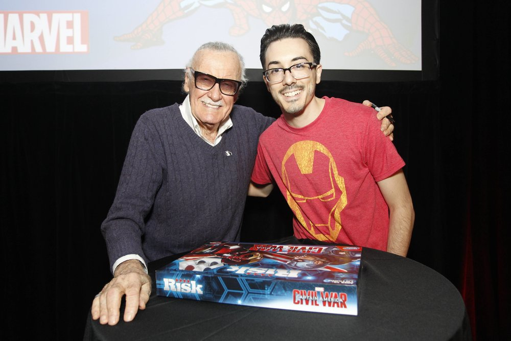 Me and the man himself, Mr. Stan Lee.