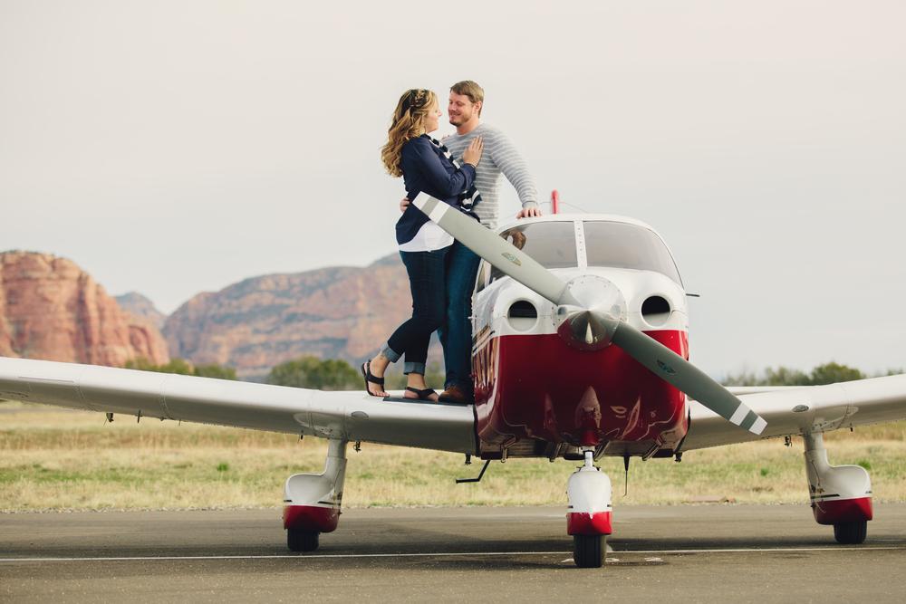 Kelley & Eric Engagement,Sedona, AZ