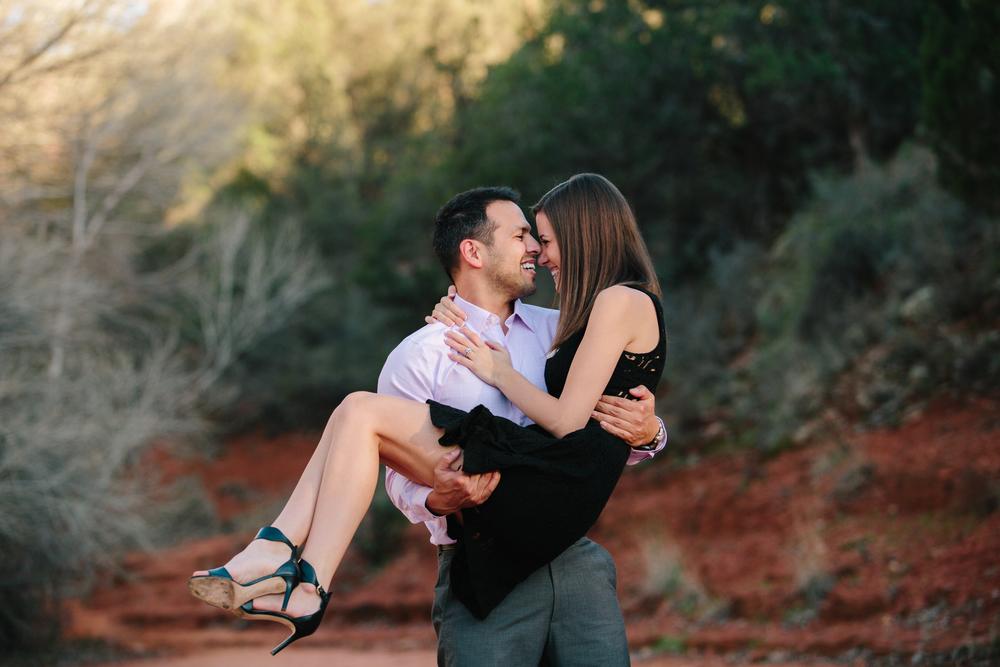 Jenna & Jason, Oak Creek Canyon, AZ
