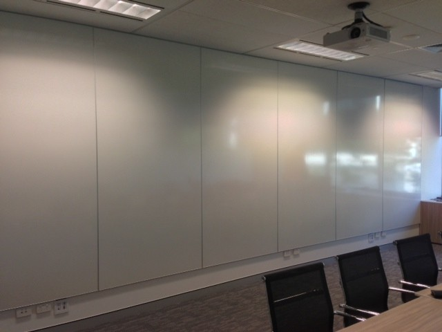 Edgeless Whiteboard Wall Panels