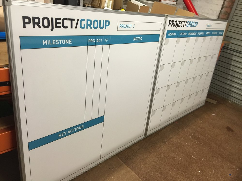 Site Check and Job Planning Whiteboard Set