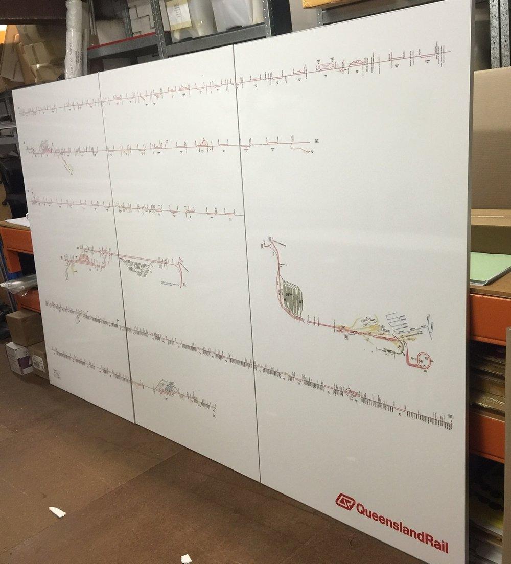 Queensland Rail Network Whiteboard