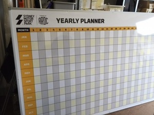 perpetual yearly calendar whiteboard branded whiteboards